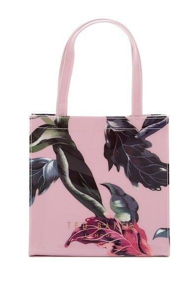 Ted Baker London Hulacon Eden Print Small Icon Tote Bag Pale Pink