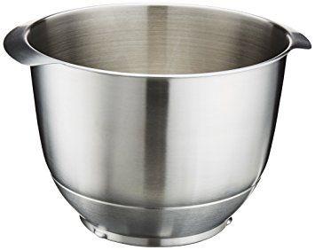 Küchenmaschine frida ~ Bosch muz er edelstahl rührschüssel küchenmaschine frida
