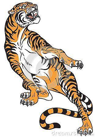 Dibujos De Animales Tigre
