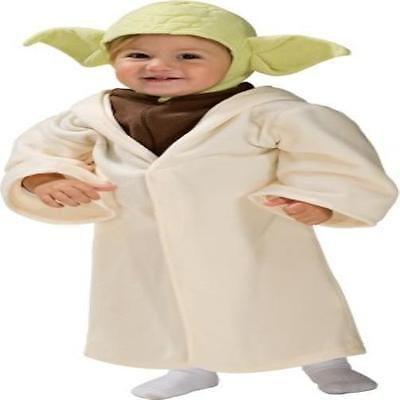 NEW Toddler Kids Boys RUBIES Disney Star Wars Yoda Halloween Costume 24 Months