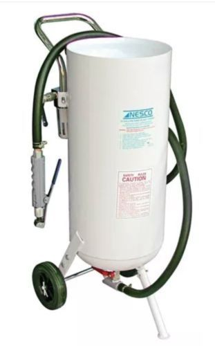 Sandblasters 43570 New 10gallon Portable Pressure Sandblasternesco Sandblasting Original Genuine Buy It Now O Pressure Tanks Shop Light Fixtures Portable