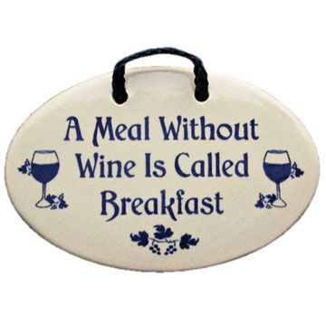 Wine lovers may agree!