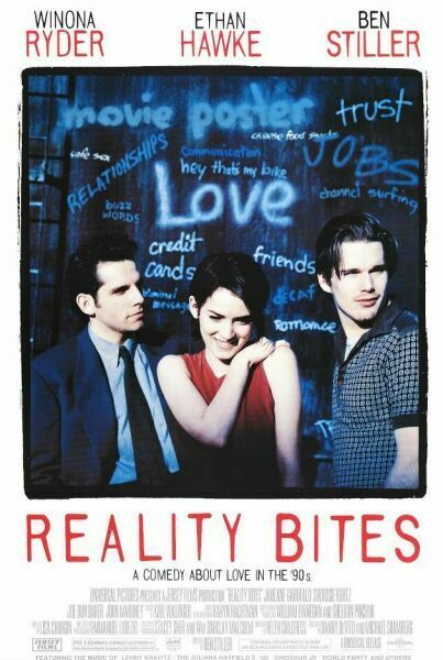 Reality Bites. Another film that captures the spirit of the 90s perfectly.