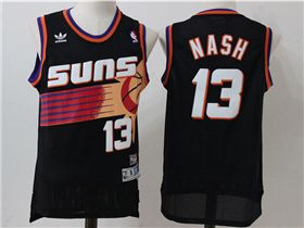 huge discount e9900 b3efd Phoenix Suns #13 Steve Nash Black Hardwood Classic Jersey ...