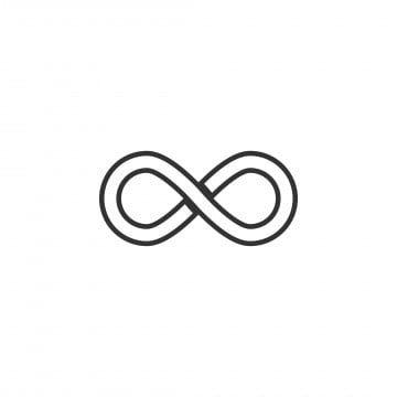Infinity Symbol Symbol Sign Vector Icons Free Logo Infinity Free Vector Illustration