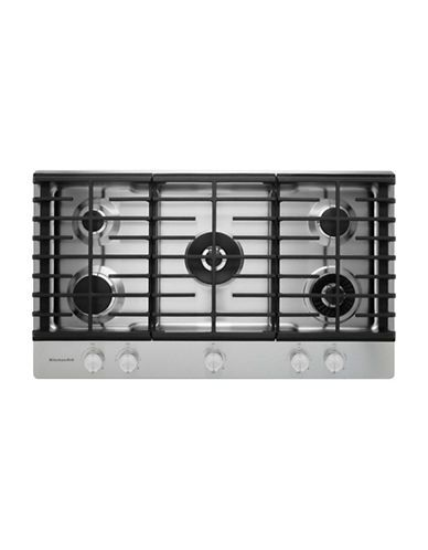 Kitchenaid Kcgs556ess 36 Inch Gas Cooktop With 20k Btu Professional Dual Ring Burner Stainless Steel Size 36 Stainless Steel Stove Oven