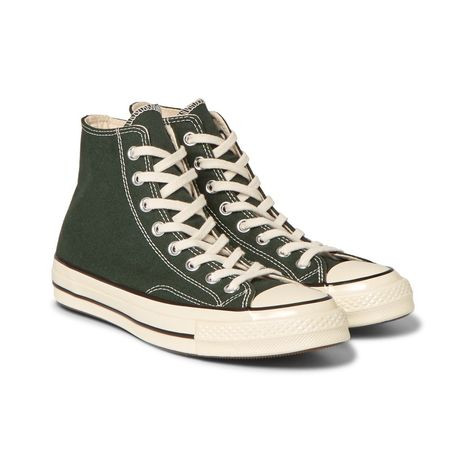 Converse Chuck Taylor High 70s Vintage Canvas Sneakers | 《 S h o e s 》 |  Pinterest | Vintage canvas, Canvas sneakers and Converse chuck taylor