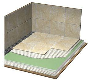 Laticrete Hydro Ban Pre Sloped Shower Pans Linear Drains With Images Linear Drain Linear Drain Shower