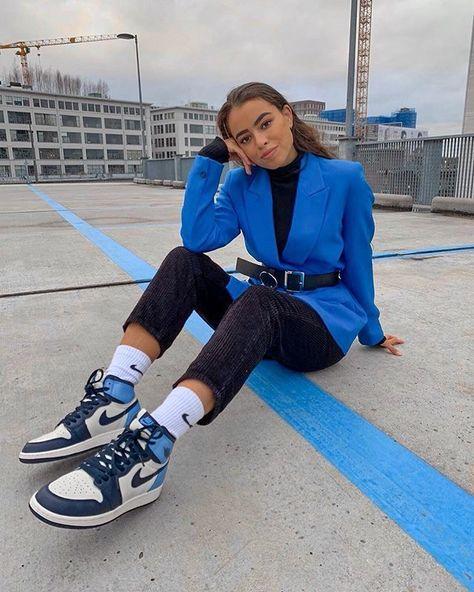 28 idées de Tenue avec mes Jordan 1 ❤️❄️ | tenue, tenues mode ...