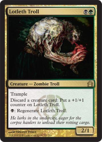 Izzet vs Magic the Gathering Golgari x1 Golgari Grave-Troll Duel Decks MtG
