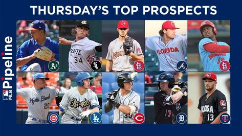 sportdailys.com–  Here's MLB Pipeline's roundup of the top prospect performances in the Minor Leagues on Thursday. Jesus Luzardo extended his scoreless streak to 26 innings as he spun another gem in Double-A Midland's 3-1 win over Corpus Christi.   Here's MLB...