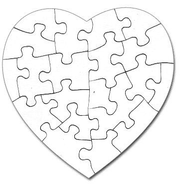 puzzle template -students create a piece to be all joined together - puzzle piece template