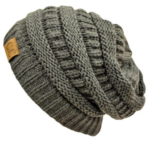b81f8cdf70f81 Details about Brand New CC Beanie Womens Cap Hat Skully Unisex ...