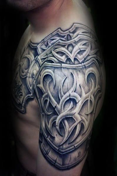60 3d Tribal Tattoos Fur Manner Maskuline Design Ideen Mann Stil Tattoo Tribal Tattoos For Men Tattoos For Guys 3d Tribal Tattoo