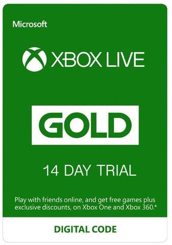 14 Day Trial Xbox Live Gold Membership Xbox Live Xbox Gifts Xbox Gift Card