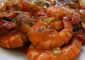 Resep Udang Asam Manis Oleh Ummu Danisha Resep Resep Udang Makanan Ikan Resep
