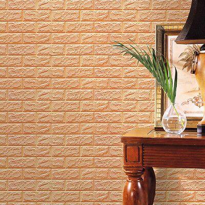 Pe Schaum 3d Ziegelstein Wandtattoo Wandaufkleber Wall Sticker Wand Dekoration Z Diy Tapete Ziegel Hintergrund Backstein Tapete