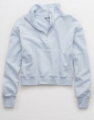 Aerie Quarter Zip Beach Fleece By American Eagle Outfitters Beachy