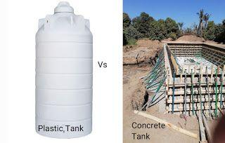 عند مقارنة خزانات المياه الفيبر جلاس البلاستيكية مع خزانات الخرسانة يجب أن تأخذ في الاعتبار عوامل كثيرة مثل المواد والتكلفة و Water Tank Water Concrete