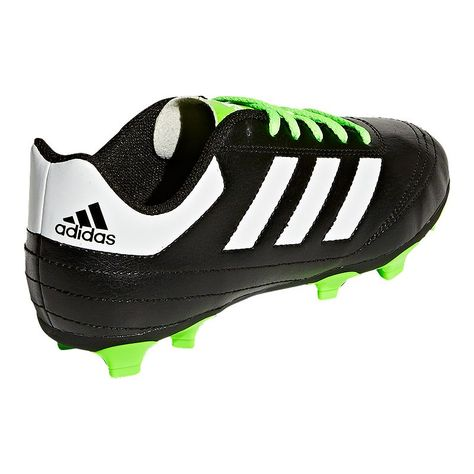 Adidas Kids Goletto Vi Outdoor Soccer Cleats Black Lime Green Boys Football Boots Soccer Cleats Adidas Kids