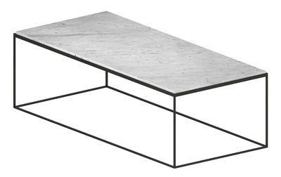 Table Basse Slim Marbre Zeus Blanc Made In Design Table Basse Table Basse Marbre Marbre