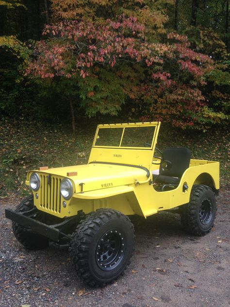 1946 Willys CJ-2A - Photo submitted by Carson Qualls.