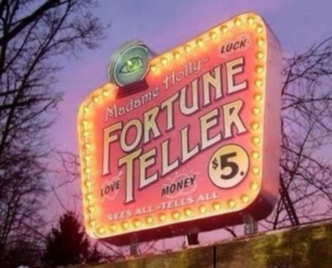 : Fortune Teller Pink Psychic Shop Sign Neon Lights Light Up Storefront Sign Divination Witchy New Age Photography Art Esoteric & Occult Witchcraft Soft Grunge, Grunge Style, The Wicked The Divine, Vintage Neon Signs, Le Happy, Happy Sunday, Fortune Telling, Old Signs, Coraline