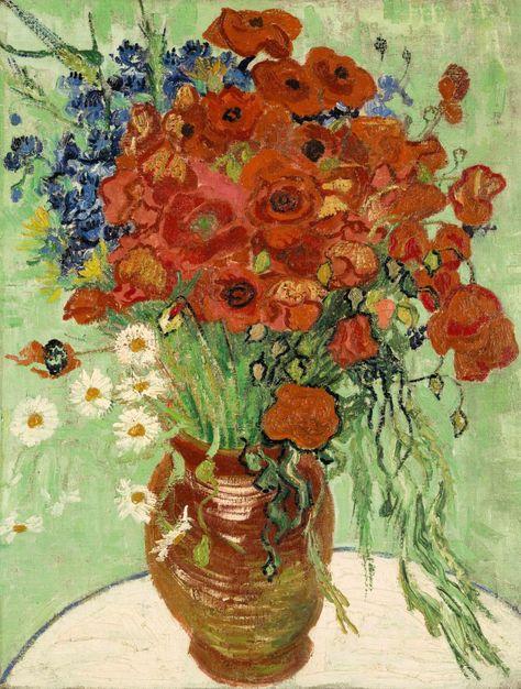 Sotheby S Versteigert Van Gogh Stillleben Van Gogh Gemalde Mohnblumen Kunst Und Blumen Kunst