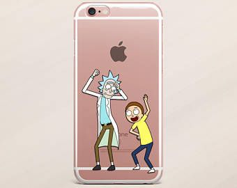 wholesale dealer a105f 587fb Samsung Galaxy S8 Plus Cartoon Case Samsung Galaxy S8 Rick and Morty ...