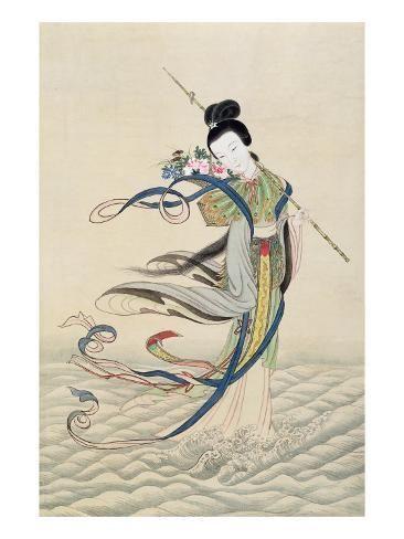Giclee Print Ho Hsien Ku Art Print 24x18in Art Art Prints