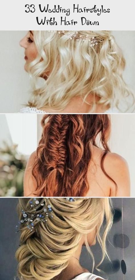 wedding hair waves #wedding #hair #weddinghair 33 Wedding Hairstyles With Hair Down wedding hairstyles down curly long blonde with side silver pin elstile #weddingforward #wedding #bride #weddinghairstyles #weddinghairstylesdown #promhair2019 #promhairEasy #promhairStraight #Loosepromhair #promhairForStraplessDress