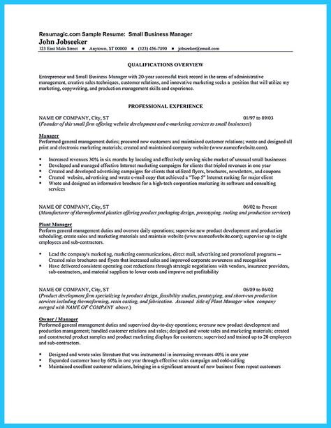 cool The Most Excellent Business Management Resume Ever, Check - business management resume