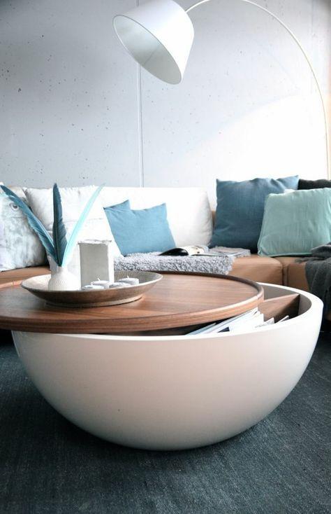 Choisir Le Meilleur Design De La Table Basse Avec Rangement Avec Notre Galerie Pleine D Idees Wohnzimmerdesign Wohnzimmer Design Couchtisch