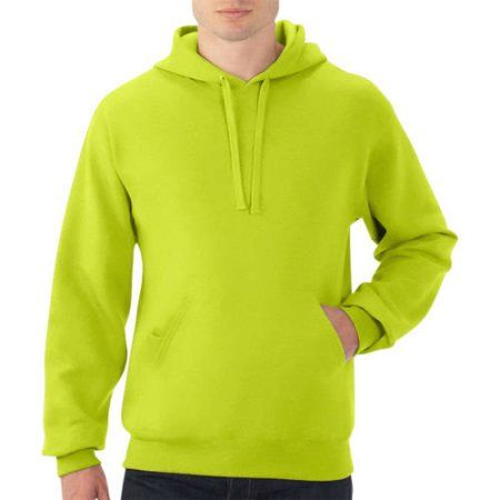 New! Fruit of the Loom Big Men's Fleece Pullover Hood, Size: 2XL ...