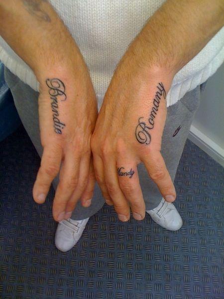 Hand Name Tattoo Ideas Zeeshan Love Loubna Name Tattoos Tattoos