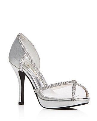 Caparros Women S Kafka Embellished High Heel Platform Sandals
