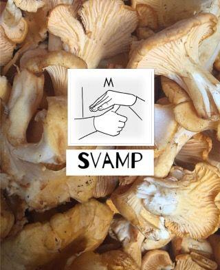 tecken på svamp