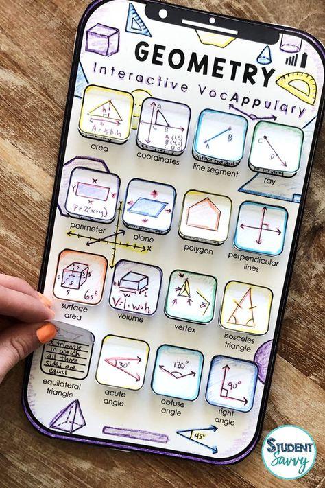 Math Vocabulary Bundle - Interactive VocAPPulary™
