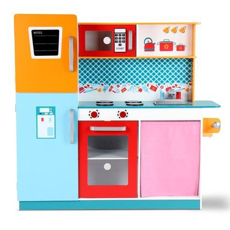 Kinderküche MIKA mit Kühlschrank und viele weitere Kinderküchen | @jago24