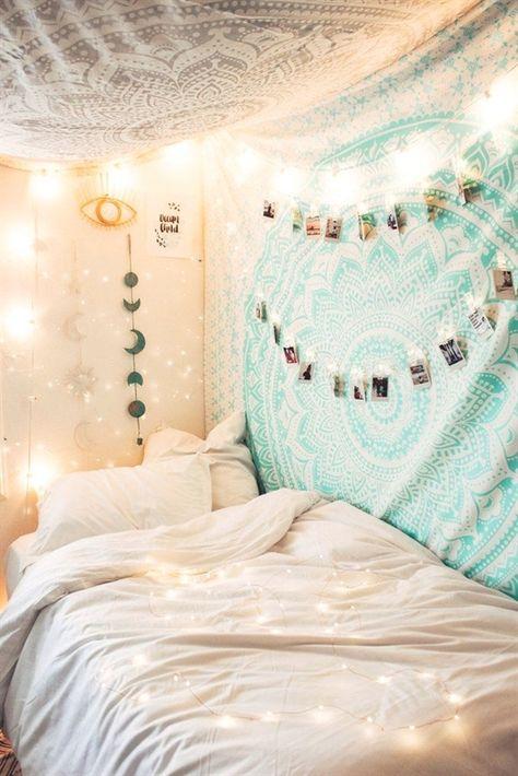 Epingle Par Wiwi Ker Sur Idee Tapisserie Chambre Decoration