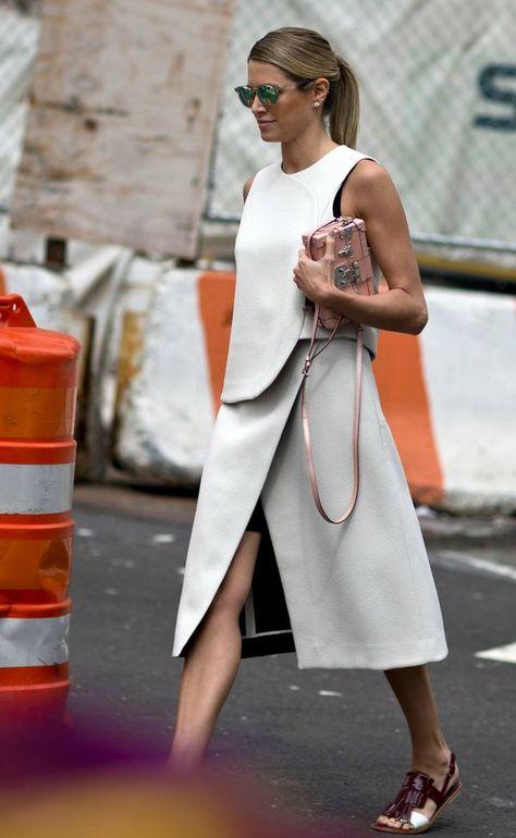 New York Fashion Week Street Style StyleCaster