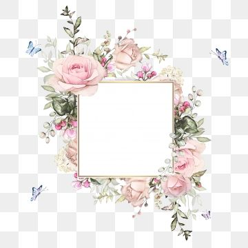Watercolor Png Images Vector And Psd Files Free Download On Pngtree Flower Graphic Design Watercolor Design Backgrounds Invitation Frames
