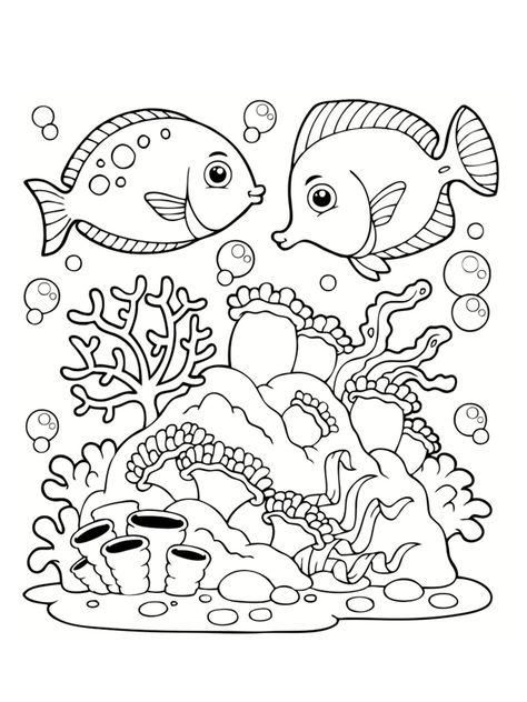 Coloriage Mer Des Dessins A Imprimer Coloriage Mer Coloriage