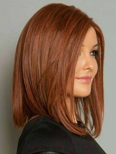 The long square hairstyle is trendy. Here's 25 Ideas The bob cut seems to be everywhere these days. We see it worn in fashion shows and images of fashion bloggers. It's also featured on celebrity photos ... Long Hairstyle