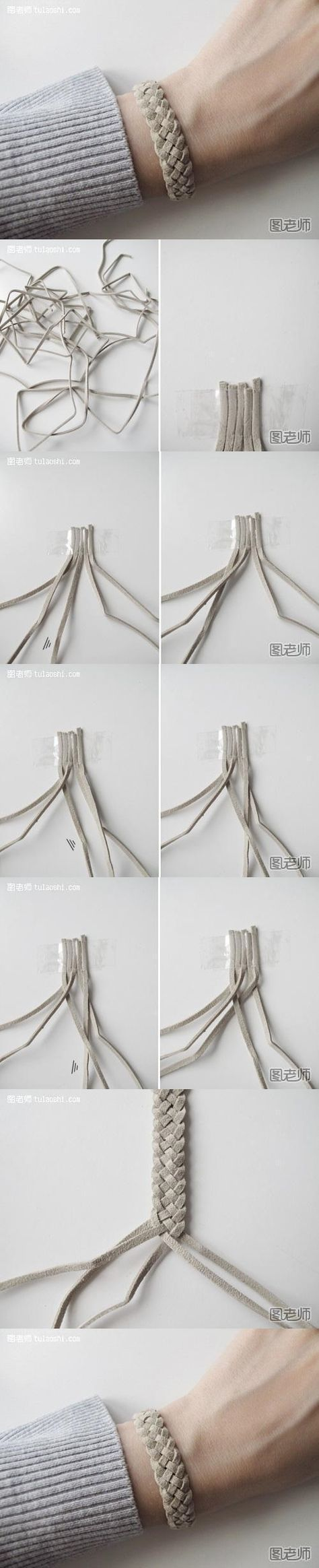 How to make your very unique bracelet step by step DIY instructions