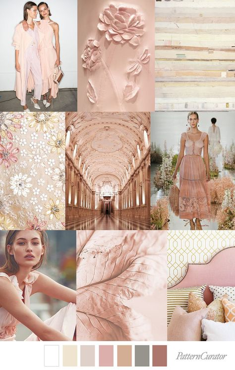WHITE SANGRIA   SPRING / SUMMER 2019 TREND MOOD BOARD BY PATTERN CURATOR