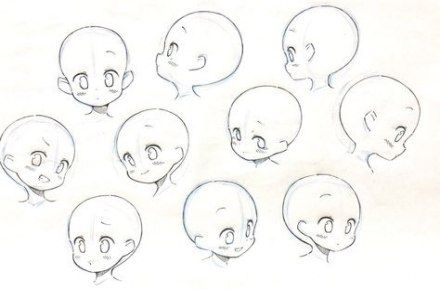 56 Ideas For Baby Face Drawing Animation Baby Face Drawing Chibi Drawings Baby Drawing