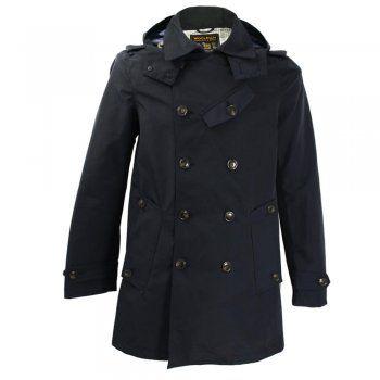 Woolrich Summer Michagan Navy Peacoat Jacket W0CPS1894
