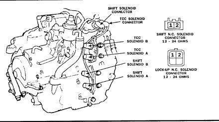 PRELUDE TCC 1989 SOLENOID