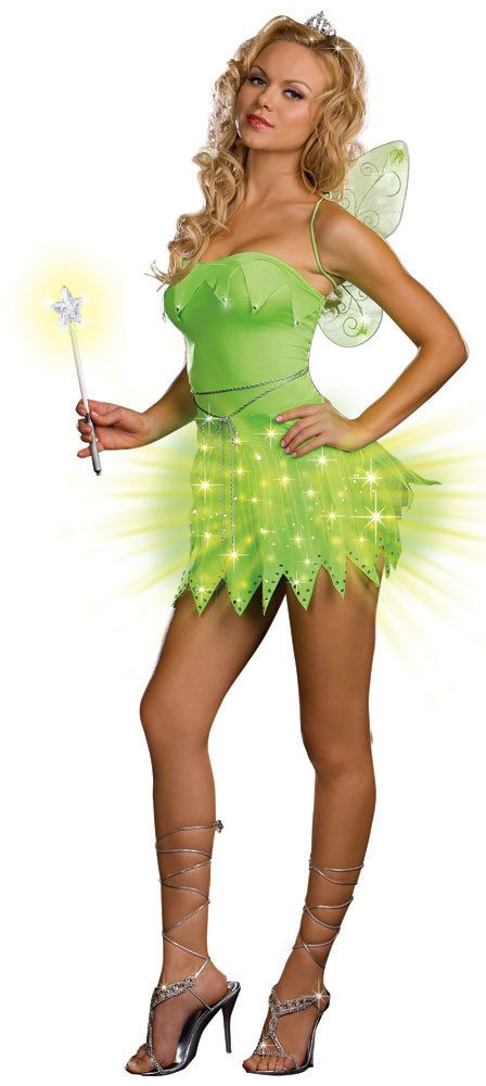 bright sprite green sexy fairy costume costumes pinterest sprites costumes and halloween costumes - Green Fairy Halloween Costume